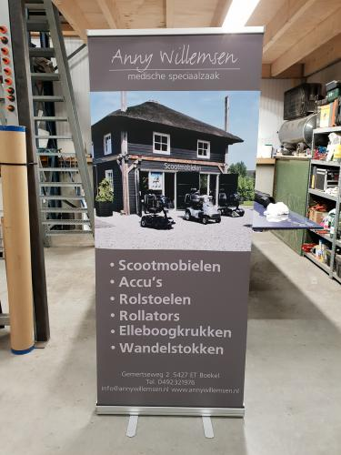Roll up banners bedrukken