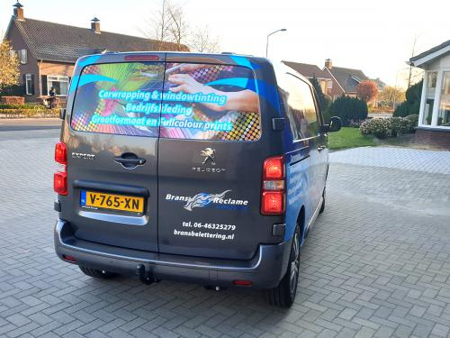 Carwrapping grafische print